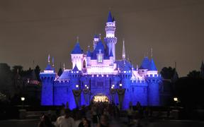 Disneyland, a theme park in Anaheim, California, owned and operated by the Walt Disney Company.