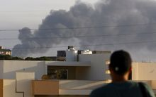 Rival militia are fighting for control of Tripoli's international airport.