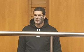 Hemi Taylor in court today.