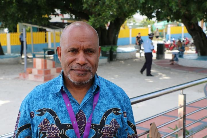 The West Papuan independence campaigner Benny Wenda.
