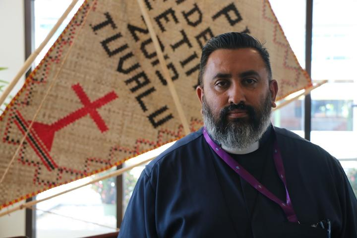 The general secretary of the Pacific Council of Churches, James Bhagwan.