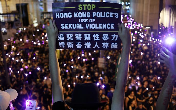 Metoo Hong Kong Protesters Call Out Ual Harment By