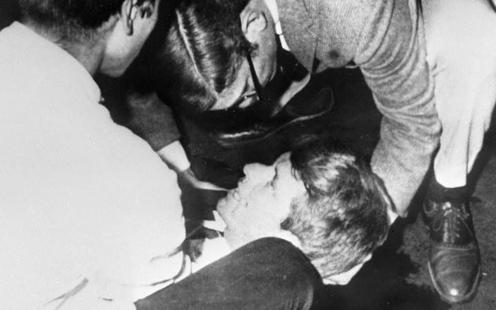 RFK Assassin Sirhan Sirhan Stabbed in Prison
