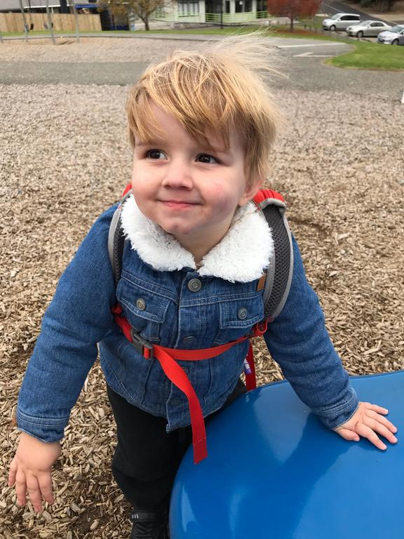 Benjamin Playne, who is set to get a liver from his father Matt, will need immunosuppressants to ensure his body does not reject it. Photo: Supplied / Ashleigh Playne