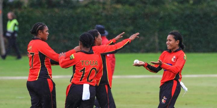 Papua New Guinea are one win away from the Women's T20 World Cup.