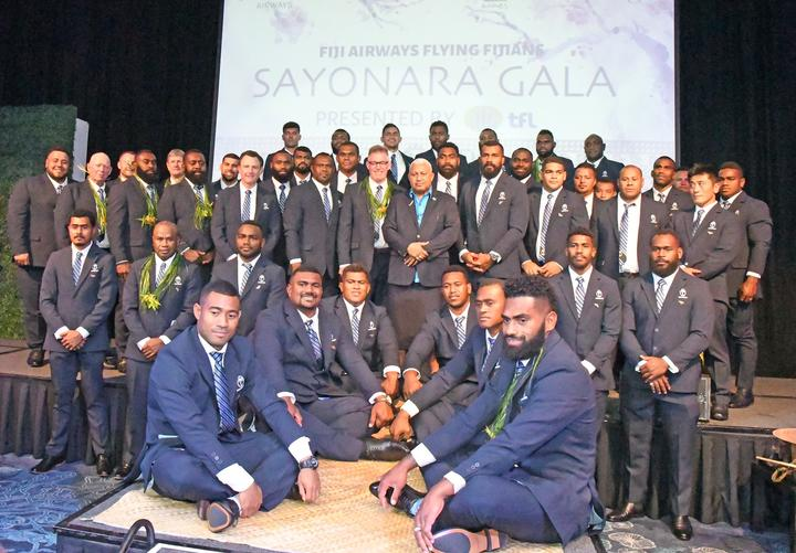Sport: World Cup send-off for Flying Fijians