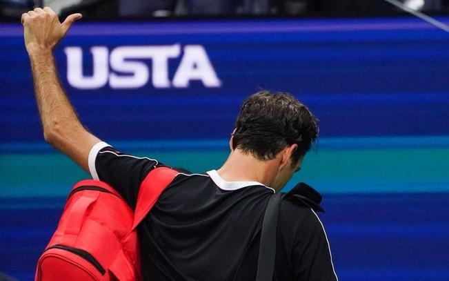Erratic Federer loses to 78th-ranked Dimitrov in U.S. Open quarterfinals