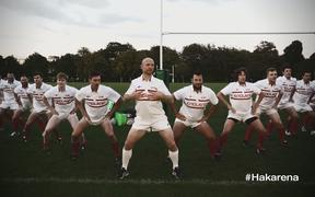 The English Rugby team advertised ahead of their 2015 campaign with a video produced by media company BJL, which parodied the All Blacks' 'Ka Mate' haka created by Te Rauparaha, a Ngāti Toa chief.