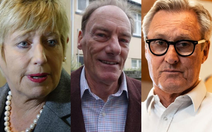 Lianne Dalziel, John Minto and Darryll Park are all vying to be Christchurch's next mayor.