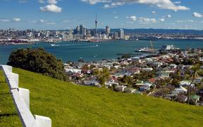 7395493 - auckland city from mt. vicotria