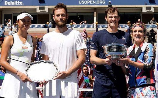 Murray, Mattek-Sands retain US Open mixed doubles crown