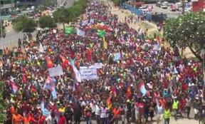 Public march in Port Moresby for West Papuan freedom. 10 September, 2019