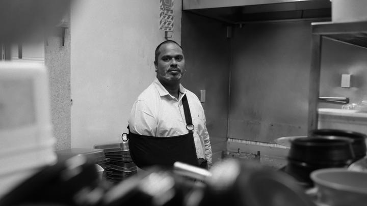 Restaurateur Ahmed Jahangir was shot in the Christchurch mosque attacks. His chef was too. His restaurant has been closed since.