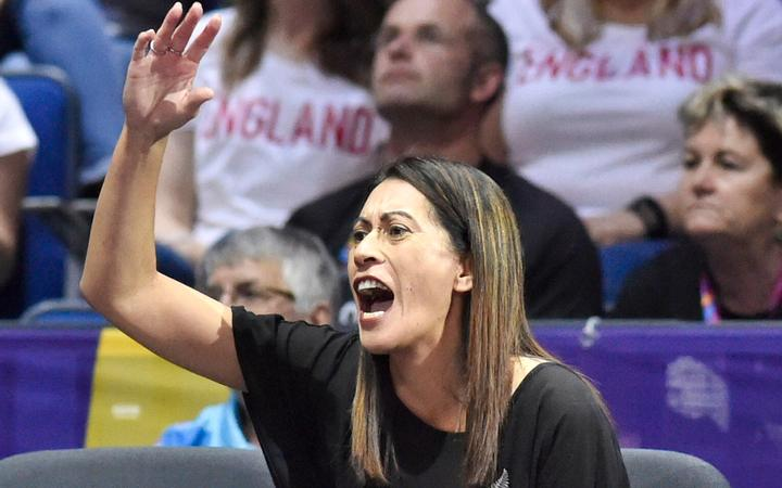 Sunshine Coast Lightning and Silver Ferns coach Noeline Taurua