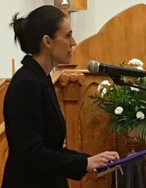 Prime Minister Jacinda Ardern pays tribute to her late Tongan counterpart.