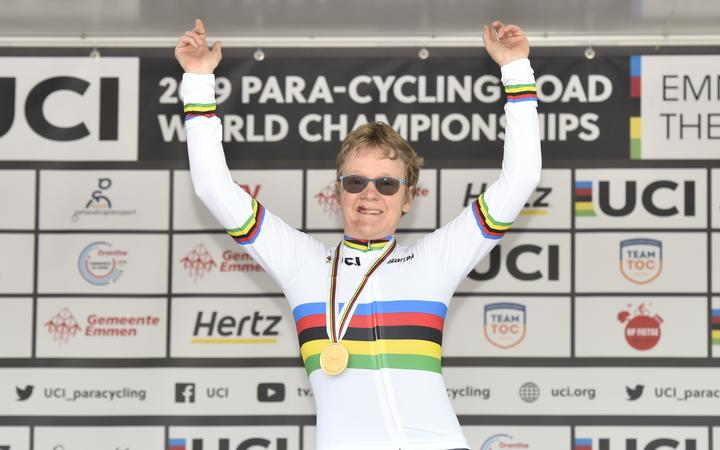 Picture by Allan McKenzie/SWpix.com / www.photosport.nz - 15/09/2019 - Sport - Cycling - UCI Para Cycling Road World Championships 2019 - Emmen, Netherlands.