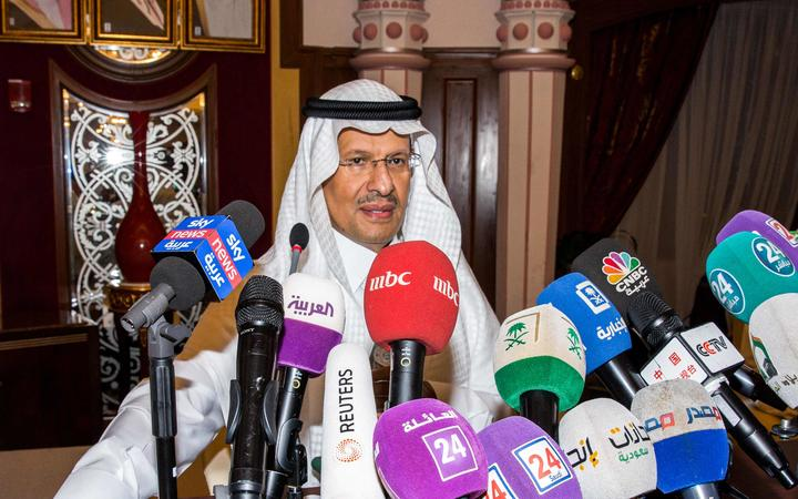 Energy Minister Prince Abdulaziz said Saudi Arabia's oil output will be back to normal by the end of September.