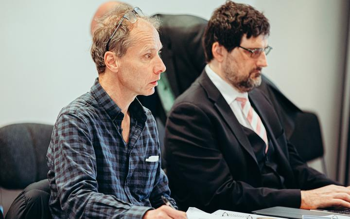 Nicky Hager at the Operation Burnham inquiry.