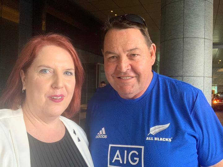 Catherine O'Connell and Steve Hansen