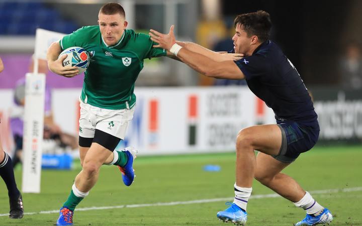 Scotland make 10 changes to their team to face Ireland