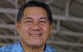 The prime minister of Tuvalu, Kausea Natano.