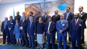 Pacific leaders meet in New York with UN Secretary General Antonio Guterres.