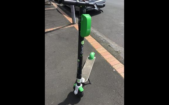Lime scooter fatal crash: Rider flew over handlebars - witness