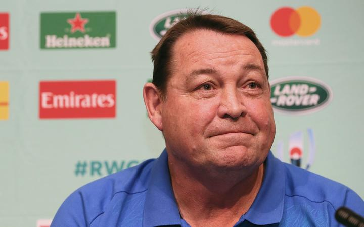 All Blacks Head Coach Steve Hansen.