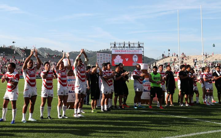 Fiji played Japan at the stadium in the Pacific Nations Cup in July.