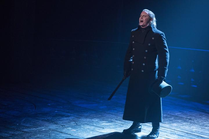 First Song Hayden Tee Plays Javert In Les Miserables Rnz