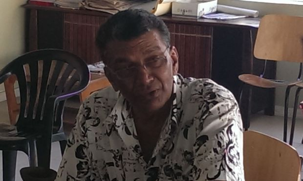 Fiji election candidate and former trade unionist, Attar Singh.