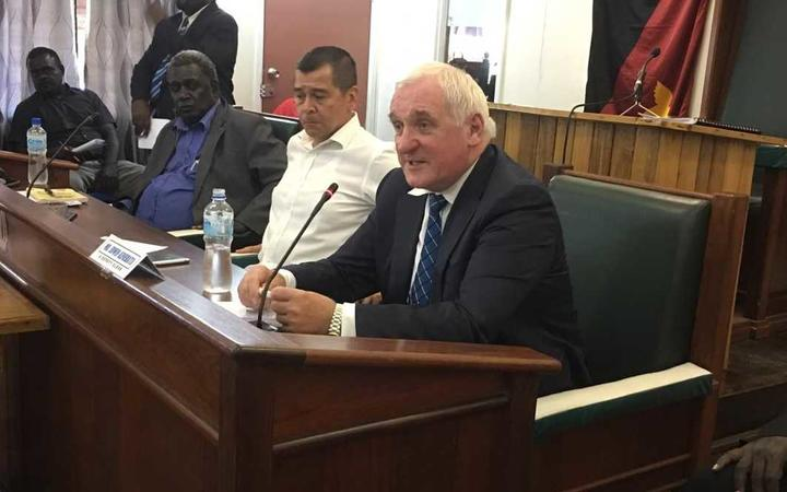 Bougainville's House of Representatives was briefed on preparation for the region's independence vote by the Bougainville Referendum Commission's chairman, Bertie Ahern, the former Irish Prime Minister. 25 September, 2019