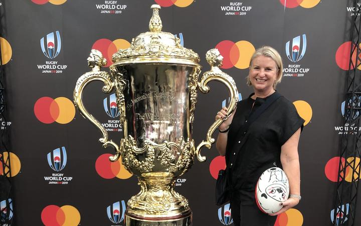 Rugby World Cup We Re Just So Happy To Be Here Rnz News