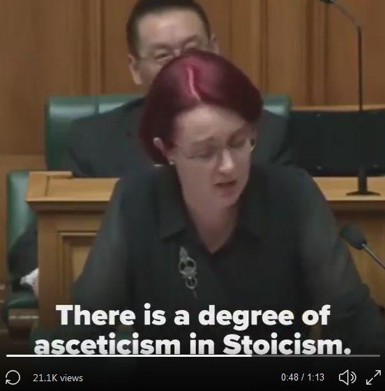 A screenshot from one of National's videos, highlighting MP Deborah Russell.