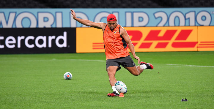 Tonga will be relying on James Faiva's kicking game vs Argentina.