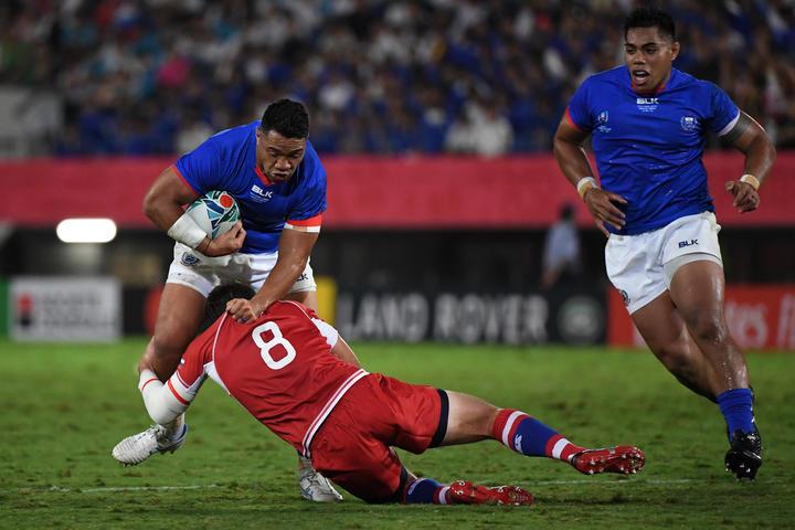 Samoa centre gets 3-match ban for high tackle