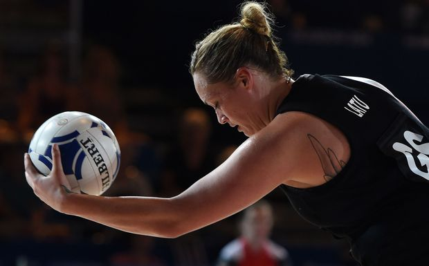 Catherine Latu during a Commonwealth Games match against Malawi.