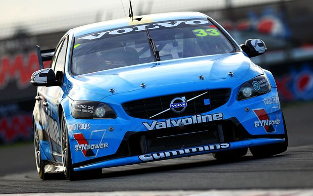Volvo driver Scott McLaughlin