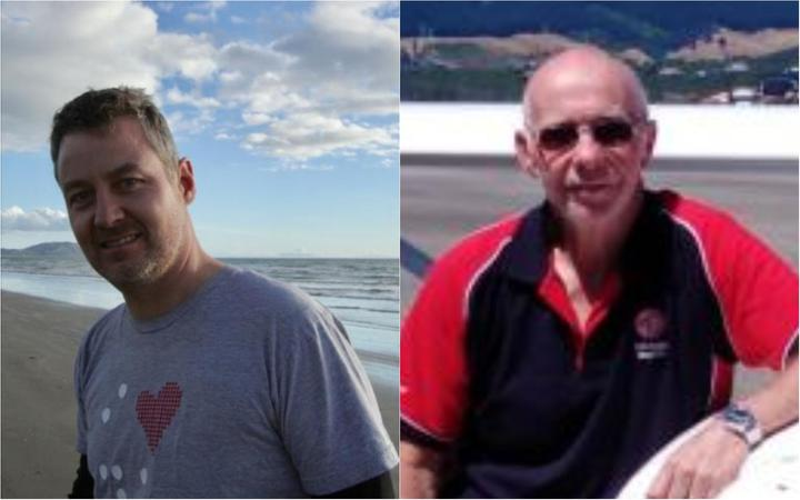 Norman Alan Comerford, 44, of Paekakariki and Michael James Hall, 70, of Te Horo.