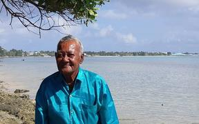 74-year-old Teaga Esekia, a chief from the Tuvalu island of Vaitupu.