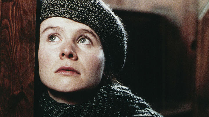 Emily Watson as Bess in Lars von Trier's masterpiece, Breaking the Waves (1995).