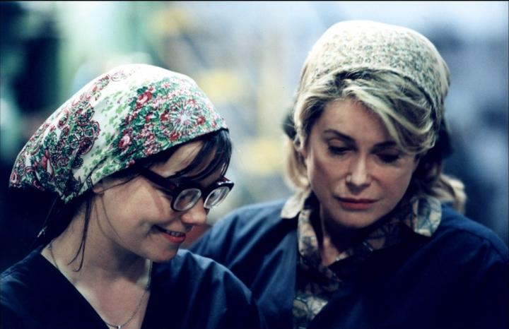 Björk and Catherine Deneuve in von Trier's Dancer in the Dark (2000).