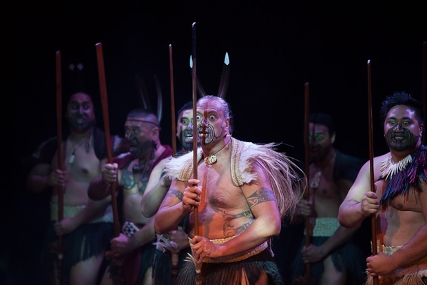 Kapa Haka performers at Edinburgh.