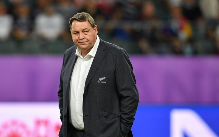 New Zealand's head coach Steve Hansen.