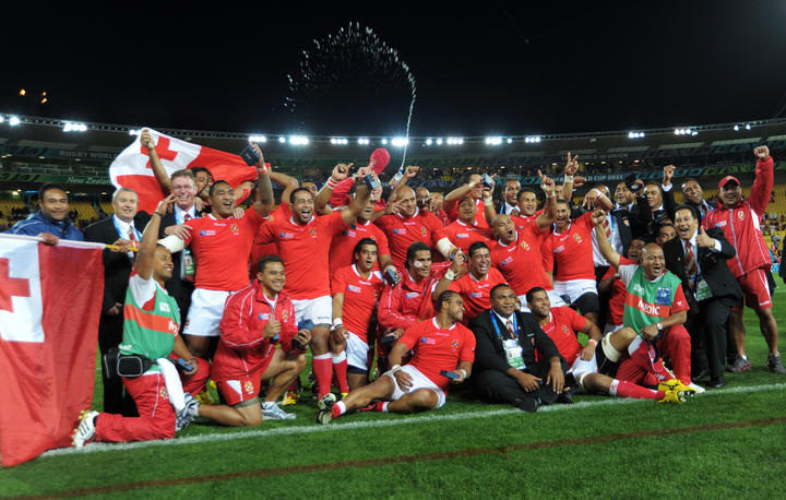 France survive Tonga scare to reach Rugby World Cup quarter-finals