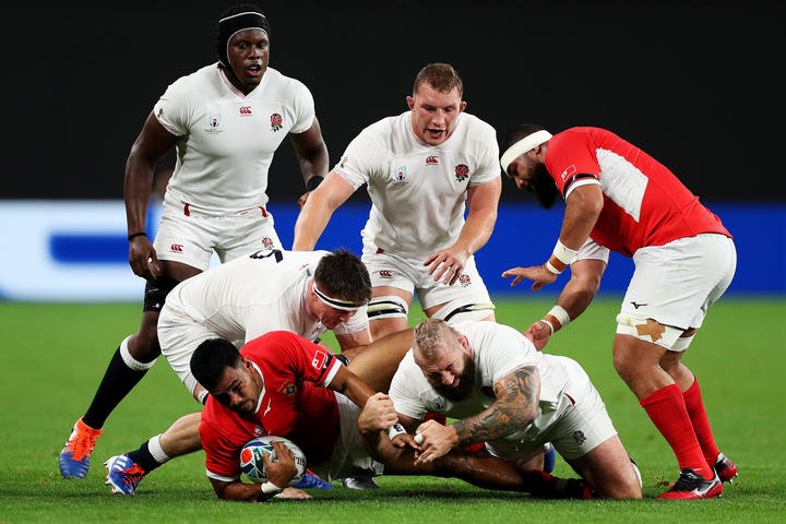 French qualify for World Cup quarter-finals after beating Tonga