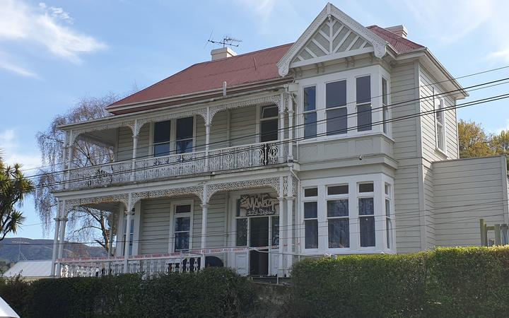 Party house where woman died in Dunedin