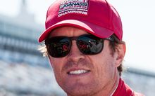 New Zealand motor racing driver Scott Dixon.