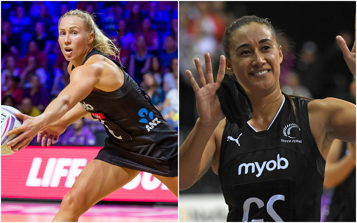 Netball: Langman and Folau's international time coming to an end
