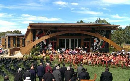 First, the new Tuhoe HQ, next a health centre at Taneatua.